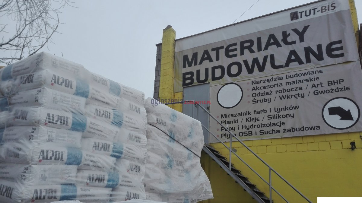 Wapno hydratyzowane budowlane extra białe 25kg ALPOL