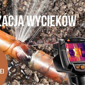 Poszukiwania wycieków wody Lublin AGMAK