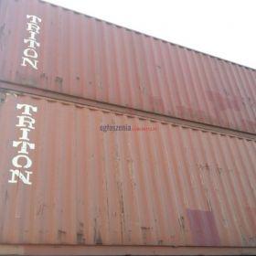 Kontener 40HC morski budowlany magazyn