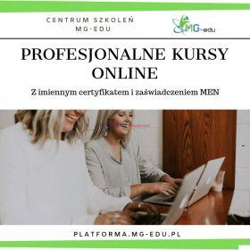 Pracownik biurowy - certyfikowany kurs online z zaśw. MEN