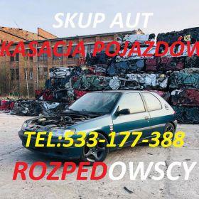 KUPIMY TWOJE AUTO SKUP KASACJA ZŁOMOWANIE Puławy Lublin Chełm Łęczna Lubartów Kraśnik Ryki