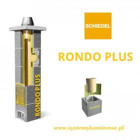 Komin Schiedel Rondo Plus, różne długości, różne rodzaje..