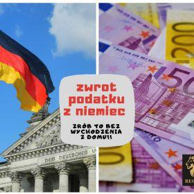 Zwrot podatku z Niemiec!