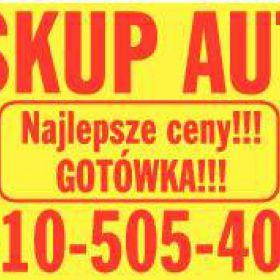 skup aut za gotowke 510-505-404, kasacja pojzadow