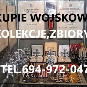 Kupię wojskowe stare Kolekcje,Zbiory telefon 694972047