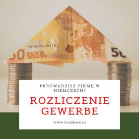 Rozliczenie Gewerbe- niemieckiej firmy
