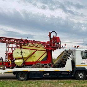 AUTO LAWETA Transport maszyn rolniczych budowlanych i innych TOBANO