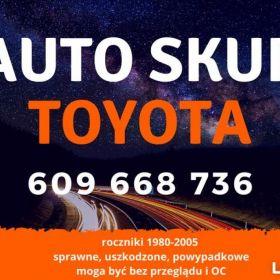 Auto skup TOYOTA skup Toyot samochodów pojazdów
