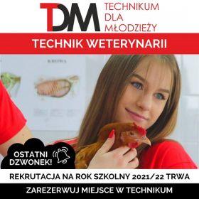 Technikum Weterynaryjne dla Młodzieży Czesne 0zł