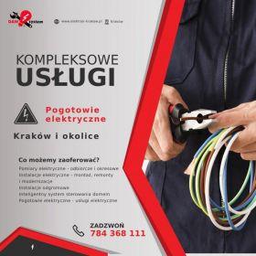 Elektryk Wiesiek oferuje usługi elektryczne - Kraków i okolice