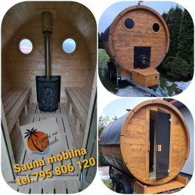 Mobilna sauna do wynajęcia