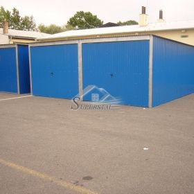 Garaż Blaszany 6X5,5 Akrylowy