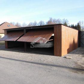 Garaż Drewnopodobny 7X6
