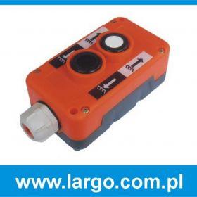 4502872LG Kaseta sterowa 2 przyciskowa do samochodowych wind załadowczych