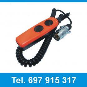 4504929LG Kaseta sterowa 2 przyciskowa do wind załadowczych Dhollandia