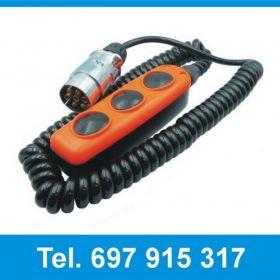 4504930LG Kaseta sterowa 3 przyciskowa do wind Dhollandia